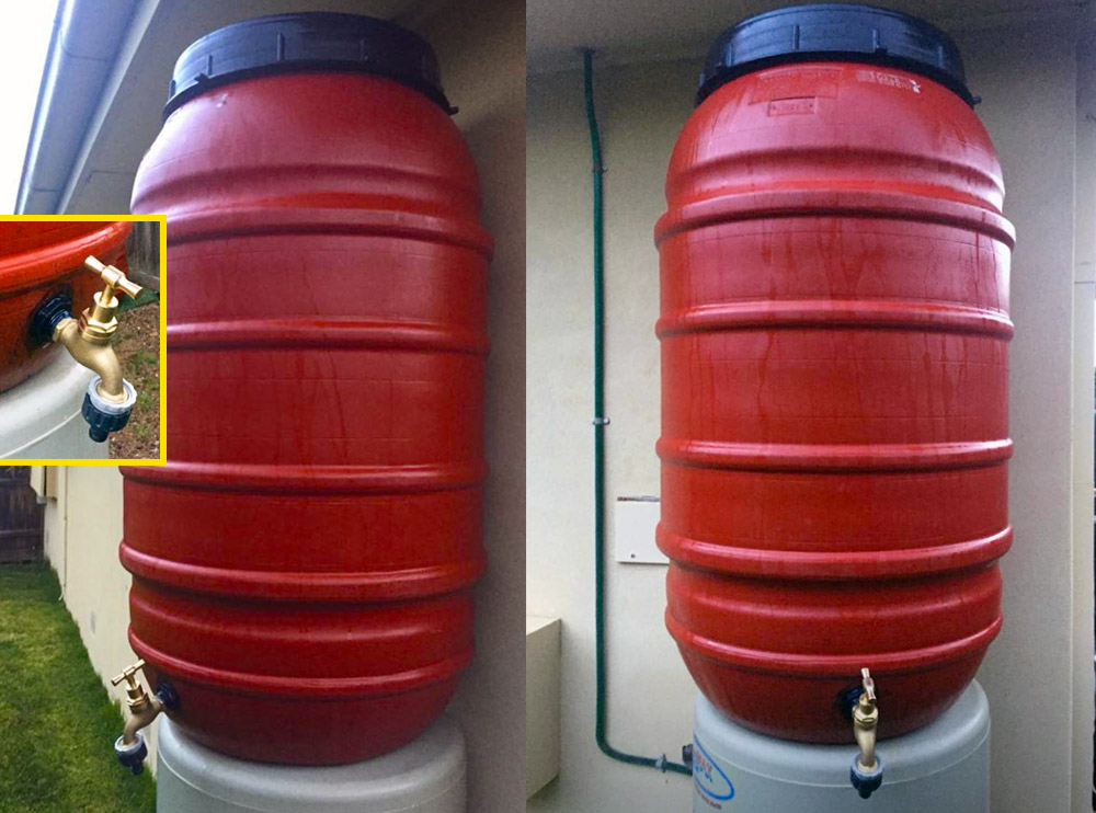 Plastic Barrels Olive Drums Water Storage for Garden