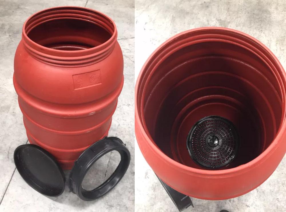Olive Drum Food Grade HDPE Plastic Barrel 220 litre