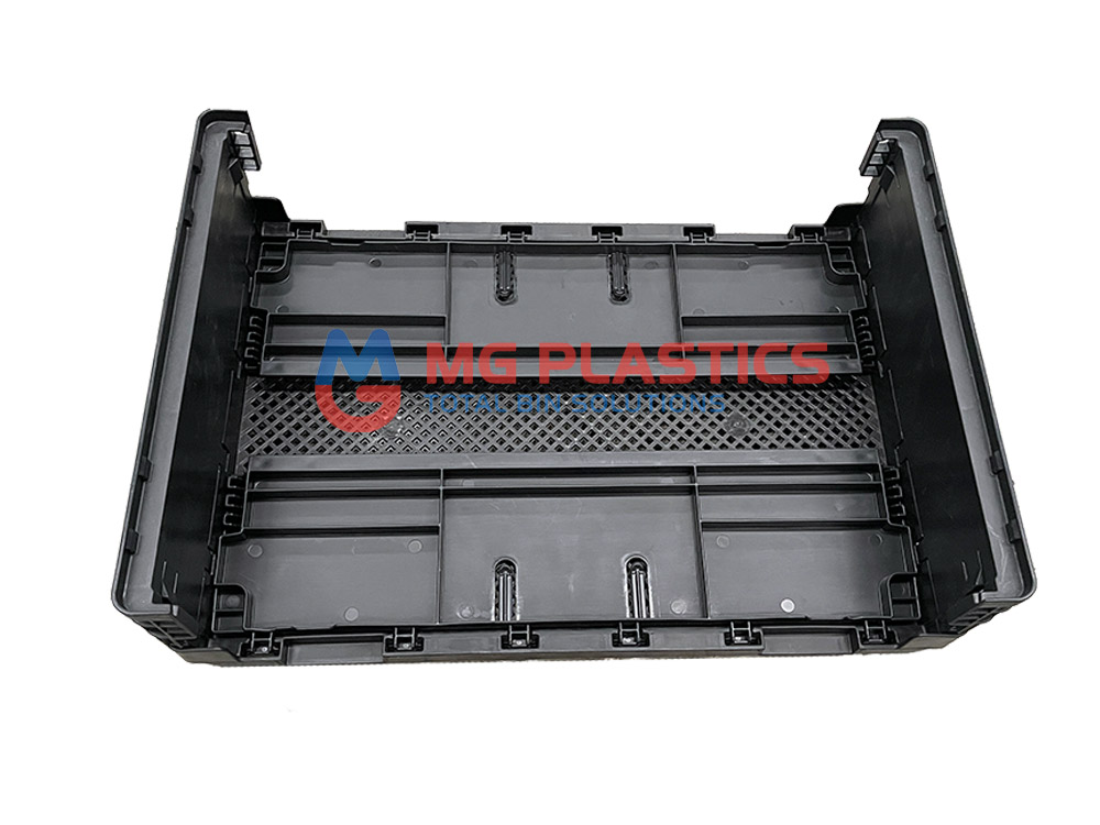 Plastic Foldable Stackable Crate 25L