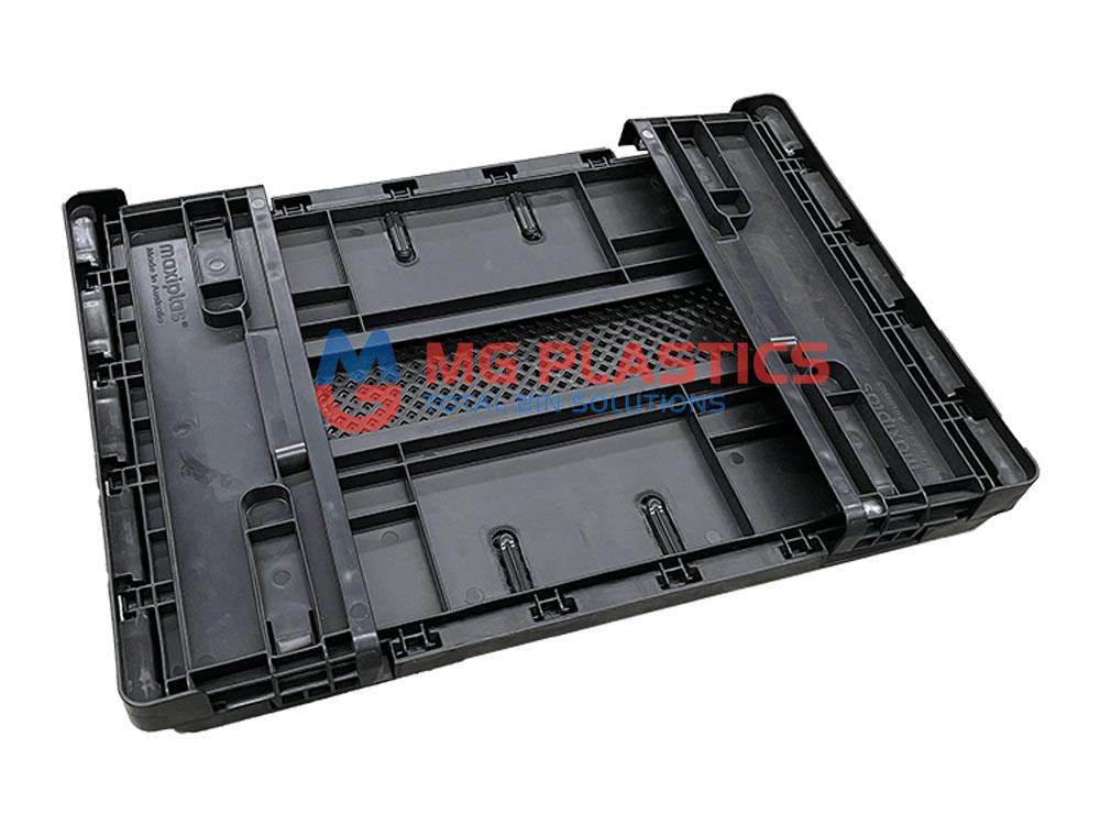 Plastic Foldable Crate 25L Heavy Duty