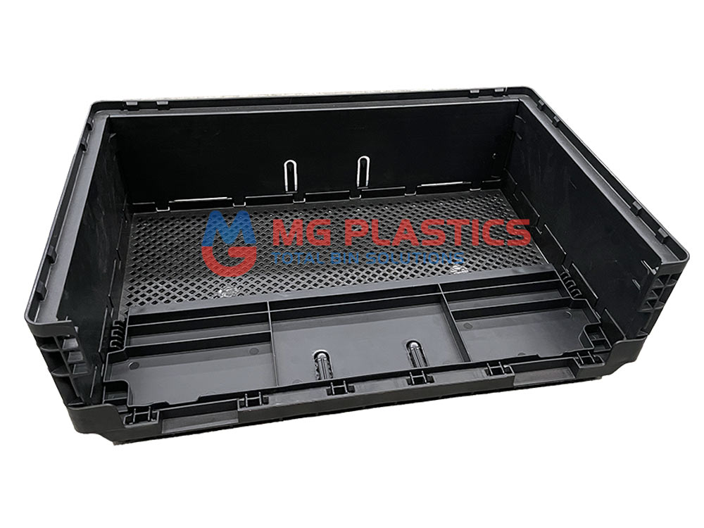 Plastic Collapsible Crate 25L