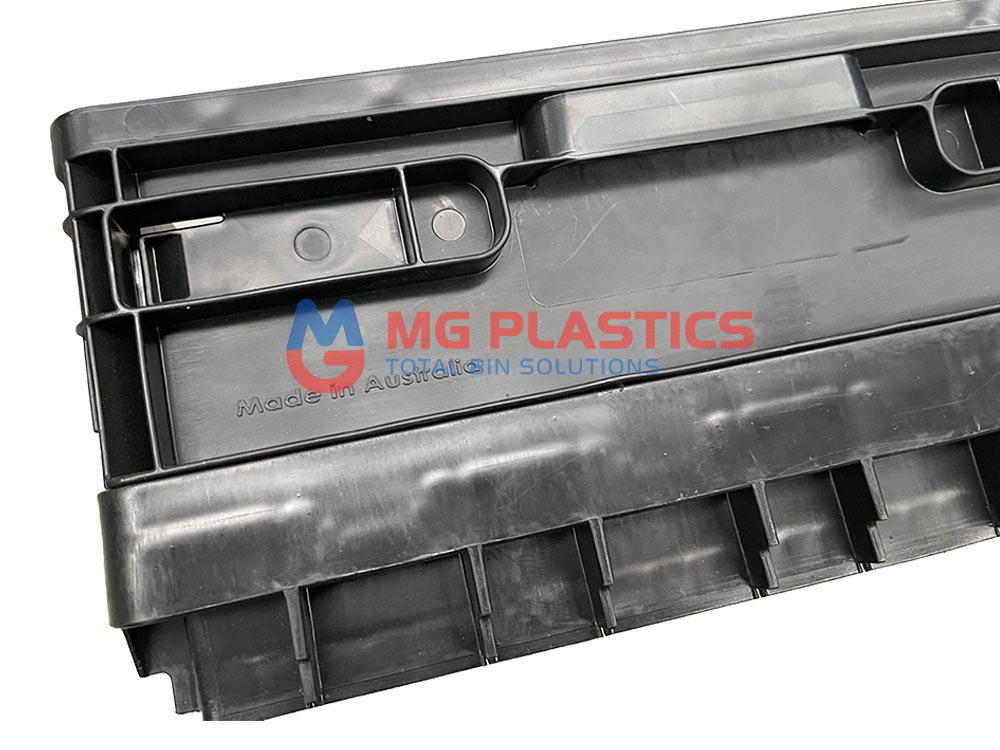 50L Plastic Crate Collapsible Heavy Duty