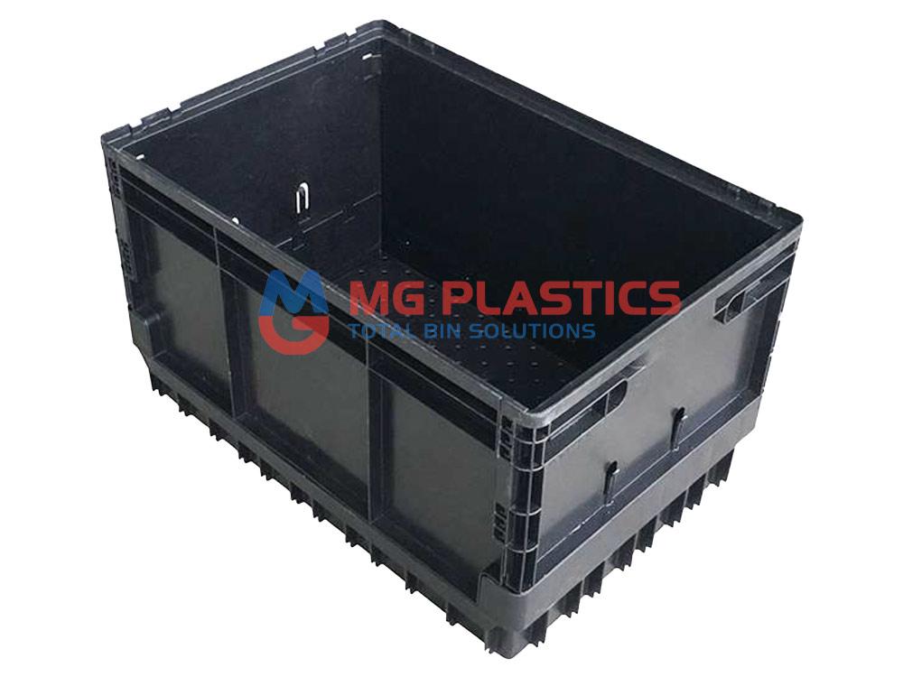 Plastic Foldable Crate 50L Heavy Duty