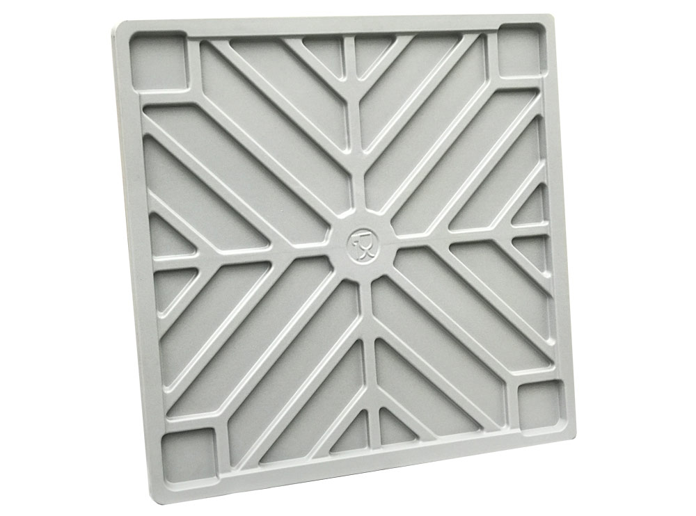 Lid for BB 560 and BB 450 Plastic Pallet Bins in Grey colour