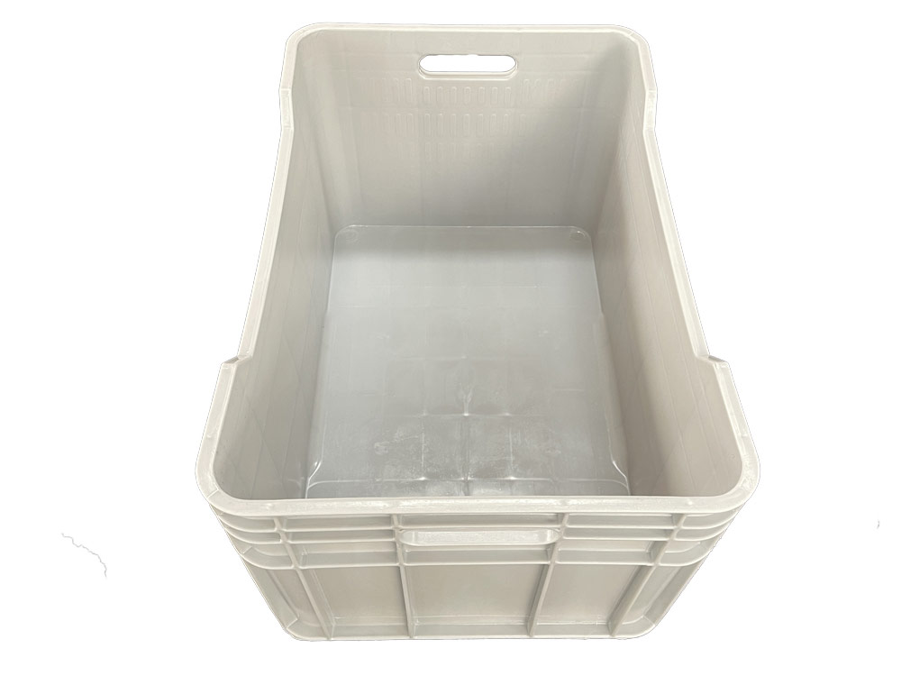 Plastic Heavy Duty Crate in Grey colour