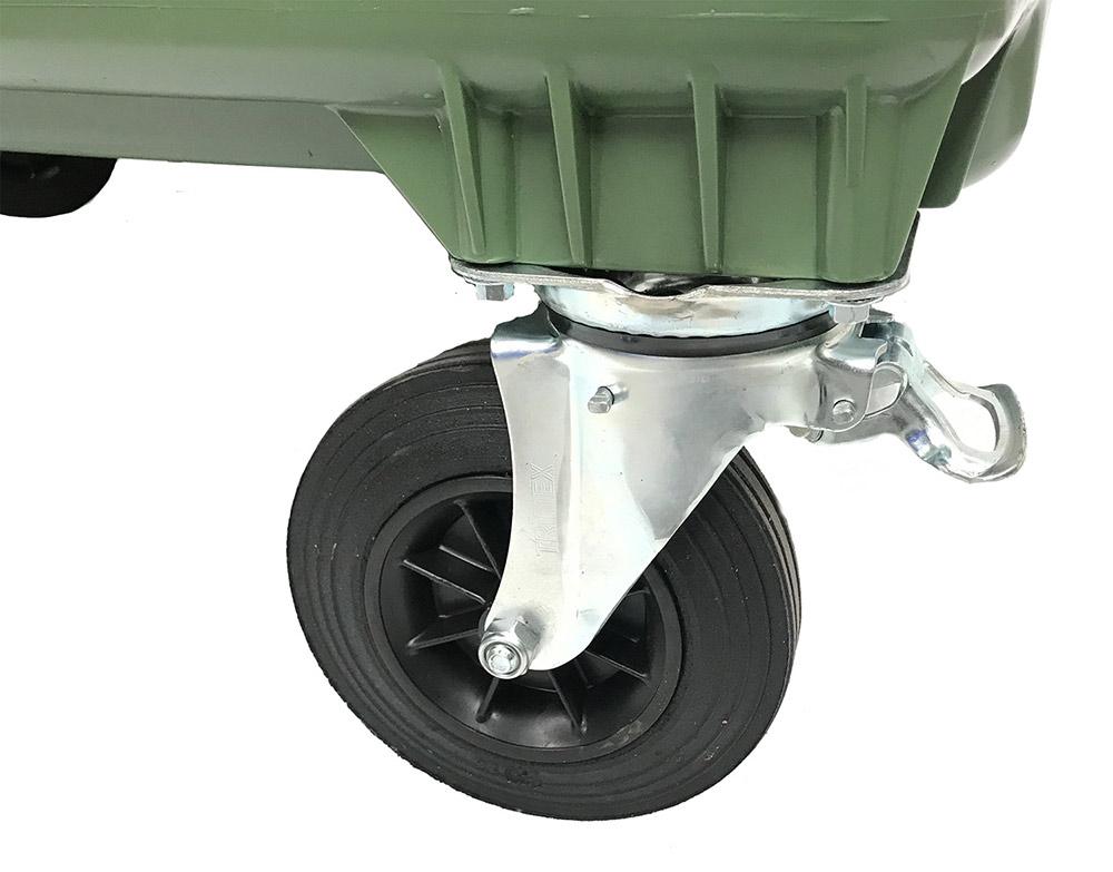 660 Litre 4 Wheel Bin in Red colour, Wheelie Bins Supplier, Wheelie Bins Wholesaler Melbourne