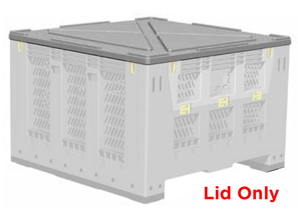 Lid for Folding Collapsible Half 780H & 560H Pallet Bins