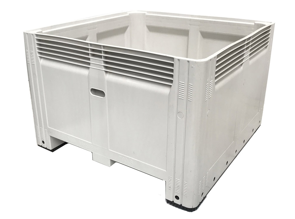 Nally MegaBin Solid 780 Litre with Steel Tipping Bars