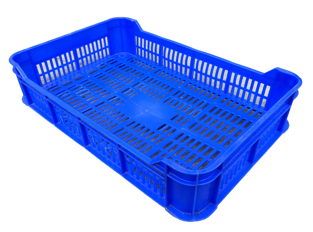 Plateau P1 Vented Plastic Tray Crate for Strawberry, Berry picking Agricultural Storage Harvest.