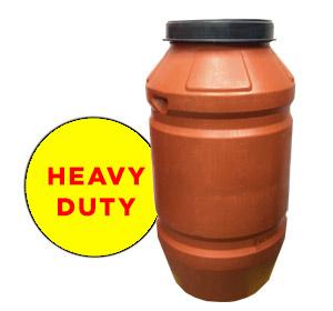 220 litre Heavy Duty Plastic Drum Food Grade HDPE