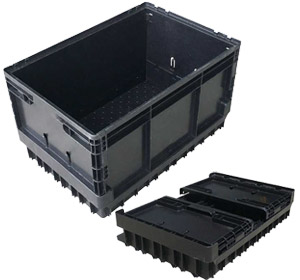 Foldable Collapsible Stackable Crate 50L