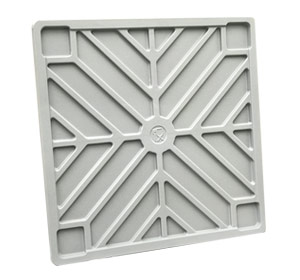Lid for CTO, BB 560 and BB 450 Plastic Pallet Bins in Grey colour