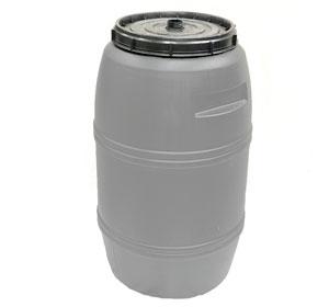 220 litre Grey Drum Food Grade HDPE Plastic Barrel